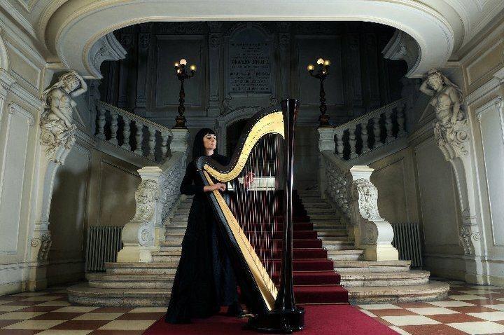 koncert harfe DORIS KARAMATIĆ