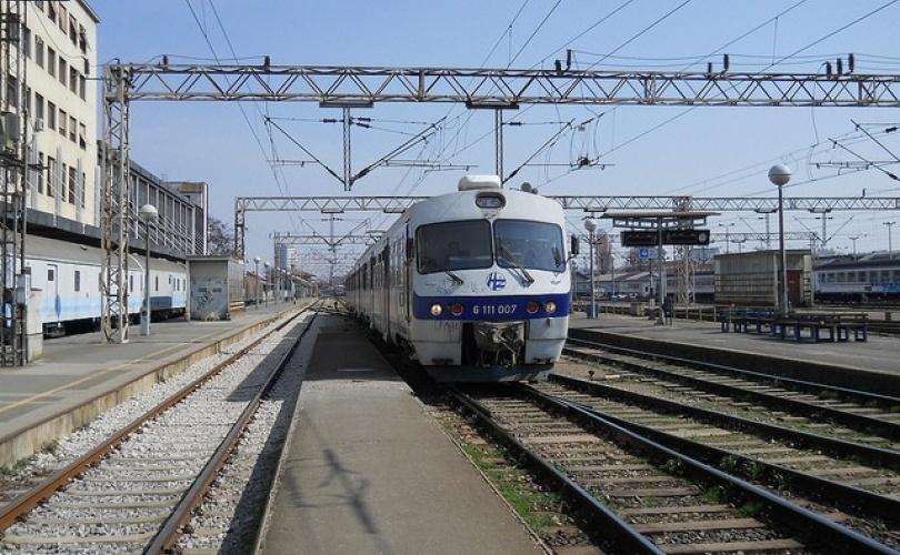 Nalet putničkog vlaka na području Dugog Sela