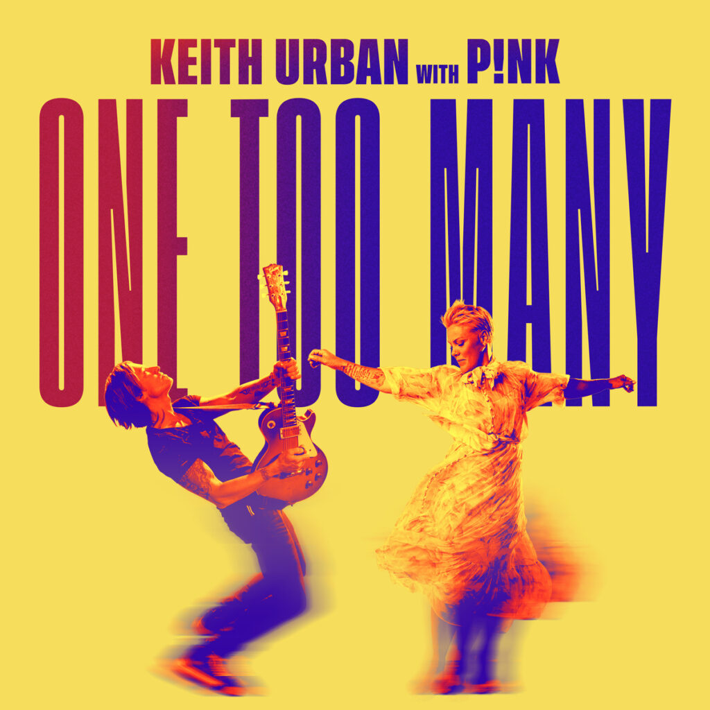 "Keith Urban u suradnji s P!nk objavio singl ""One Too Many""!"
