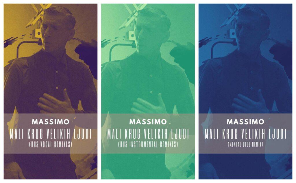 """Massimov hit godine """"Mali krug velikih ljudi"""" u remixima"""